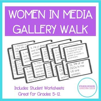 Women in Media: Statistics Gallery Walk