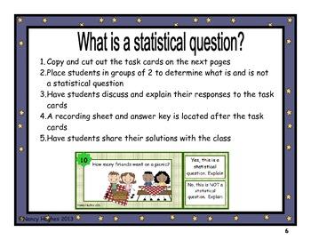 Statistics:  Grade 6