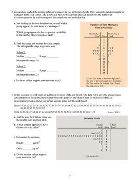 Statistics, Grade 7