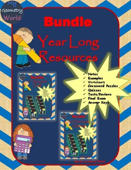 Statistics Bundle: Year Long Curriculum