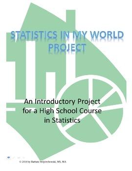 Statistics In My World Project