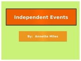 Statistics:  Independent Events