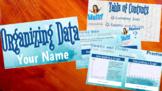 Statistics - Interactive HyperDoc/ Electronic Notebook - Organizing Data