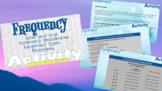 Statistics - Interactive Notebook/HyperDoc - Frequency Activity