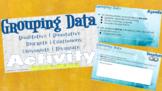 Statistics - Interactive Notebook/HyperDoc - Grouping Data