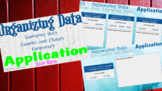 Statistics - Interactive Notebook/HyperDoc - Organizing Data Incl. Application