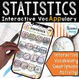 Statistics Vocabulary   Interactive VocAPPulary™ - Math Vo