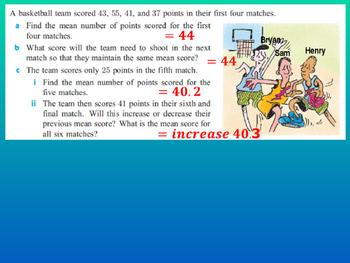 Statistics - International Baccalaureate Standard Level (All chapters)