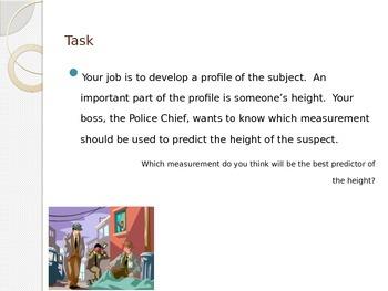 Statistics Investigator for Algebra 1 - Power Point