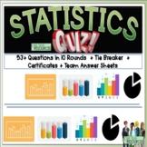 Statistics Math Quiz
