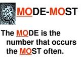 Statistics Mean, Median, Mode & Range Interactive PowerPoi