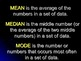 Statistics - Mean, Median, and Mode Instructional PowerPoint