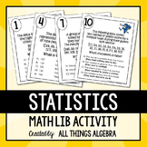 Statistics (Mean, Median, Mode, and Range) Math Lib
