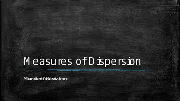 Statistics: Measures of Dispersion