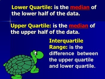 Statistics - Measures of Variation Instructional PowerPoint