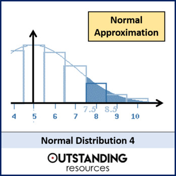 Statistics: Normal distribution 4 - Approximation for the Binomial Distribution