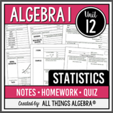Statistics (Algebra 1 Curriculum - Unit 11) DISTANCE LEARNING