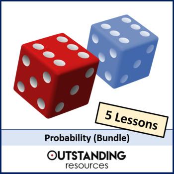 Statistics: Probability BUNDLE (5 lessons) + resources