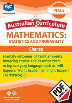 Statistics & Probability: Chance – Year 1
