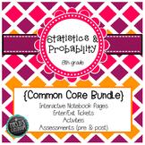 Statistics & Probability Common Core Unit {grade 8}