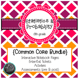 Statistics & Probability Common Core Unit {grade 8}