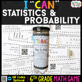 6th Grade Statistics and Probability Game