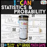 6th Grade Math Game | Statistics & Probability