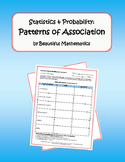 Statistics & Probability: Patterns of Association