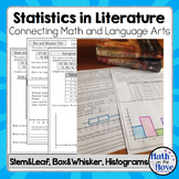 Box and Whisker, Stem and Leaf, & Histograms - Statistics in Literature