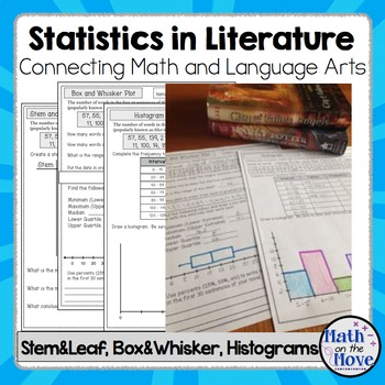 Box and Whisker, Stem and Leaf, & Histograms - Statistics