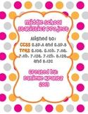 Statistics Project - Middle School Math 6.SP