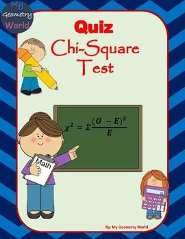 Statistics Quiz: Chi-Square Test