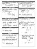 Statistics, Ratio & Proportions Review