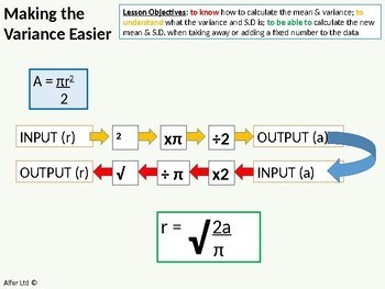Statistics: (S1) Making the Mean and Variance Easier (CODING)
