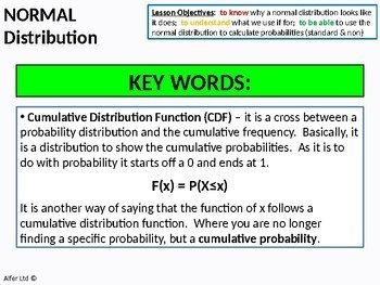 Normal Distribution 3 - Backwards and Further Problems