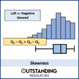 Skewness (Pearson's / Quartiles / Standard Deviation)