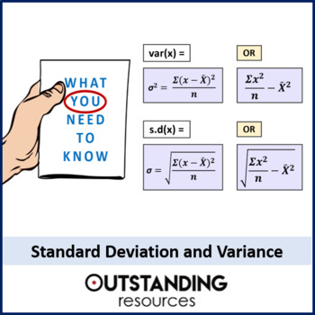 Statistics: (S1) Standard Deviation and Variance (+ lots of resources)