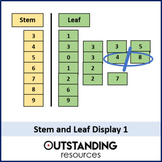 Stem and Leaf Display 1 - Introduction and Finding the Median