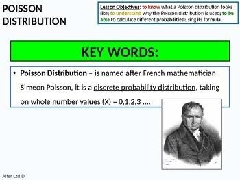 Statistics: (S2) Poisson Distribution (+ questions)