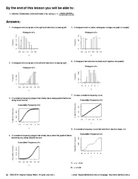 Statistics – Skewness