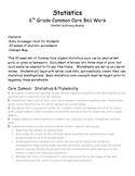 Statistics Spiral Review