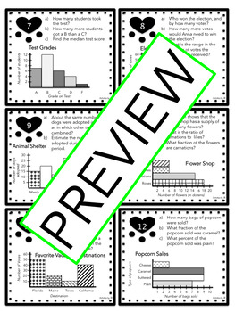 Statistics Task Cards