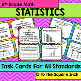 Statistics Task Cards- 6th Grade Math