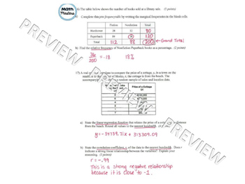 Statistics Test