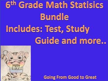 Statistics Test Bundle