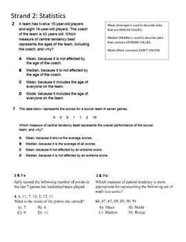 Statistics Test Prep