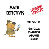 "Statistical Measures Test Review ""He Said She Said"" Error"