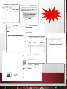 Statistics- Unit 2 Bundle: Describing Statistics (Growing Bundle)