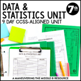 7th Grade Math Statistics Unit: 7.SP.1, 7.SP.2, 7.SP.3, 7.SP.4