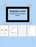 Statistics Unit - Distance Learning